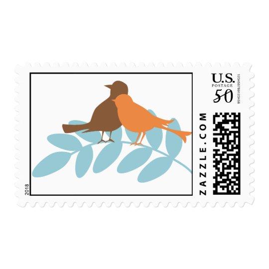 Bird Silhouettes Postage