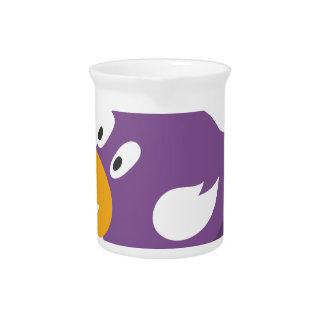 bird singing and shouting drink pitcher