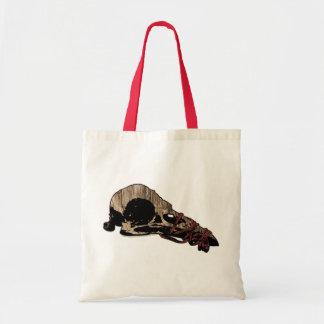 Bird Skull Canvas Bag