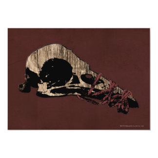 Bird Skull Card