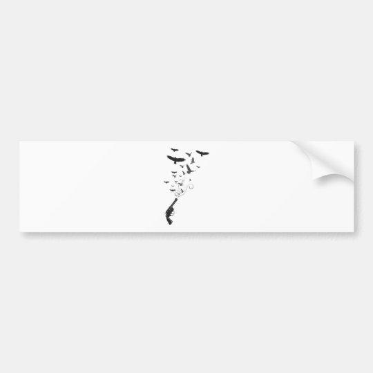 Bird Smoke Bumper Sticker