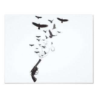 Bird Smoke Card