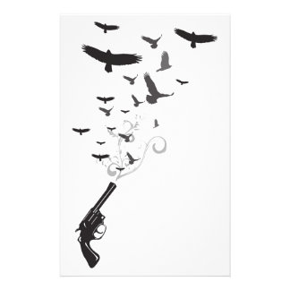 Bird Smoke Stationery