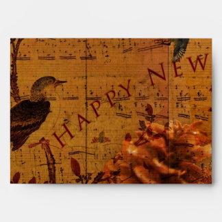 Bird Song New Year Envelope
