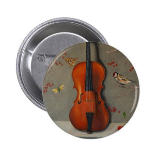 Bird Song Pinback Buttons