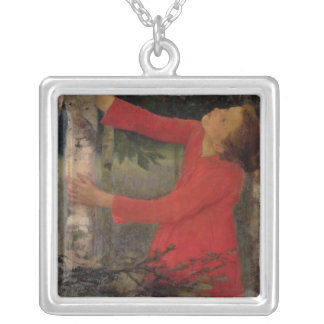 Bird Song Silver Plated Necklace