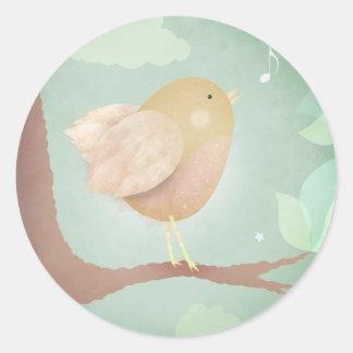 Bird song - stickers
