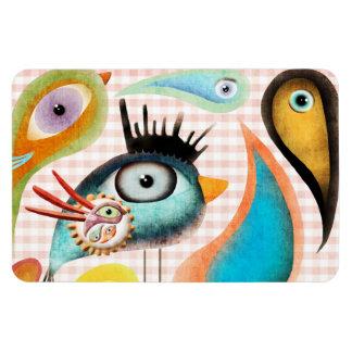 Bird Soul Kingdom Premium Magnet