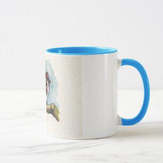 Bird: Sparrow in Watercolor Mug