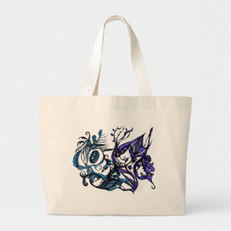 Bird Spirit Large Tote Bag