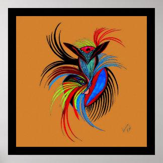 Bird Spirit Poster