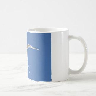 Bird Straw in Mauritius Tail Coffee Mug