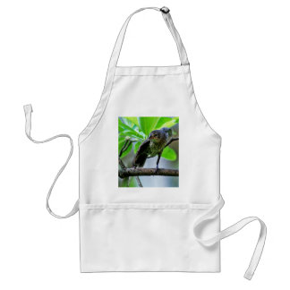 Bird Stretching on Magnolia Tree Aprons
