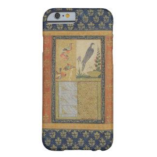 Bird study and calligraphy, Golconda, Andhra Prade iPhone 6 Case