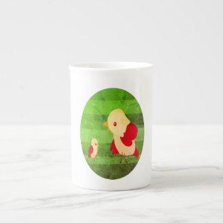 Bird Talk Bone China Mug