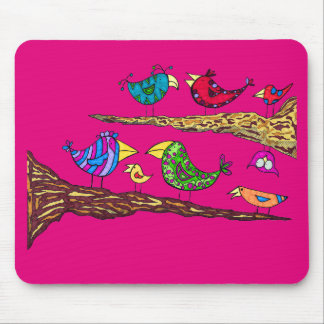 Bird Talk Mouse Pad