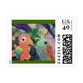 Bird Talk Stamp