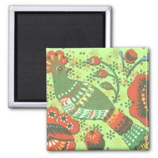 Bird Tapestry Magnet