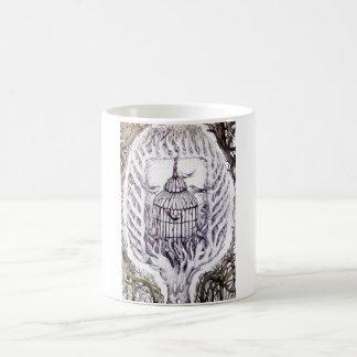 bird tattoo art mug