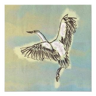 Bird Thank You Card Beautiful Thanks Eco Friendly