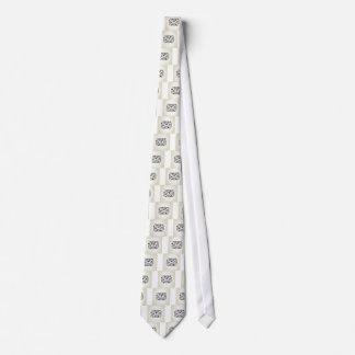 Bird the letter neck tie
