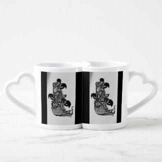 BIRD TOTEM COFFEE MUG SET