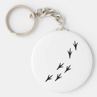 Bird - Tracks Keychain