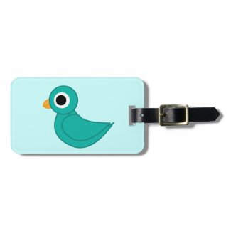 Bird Travel Bag Tag