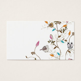 Bird tree Business Card