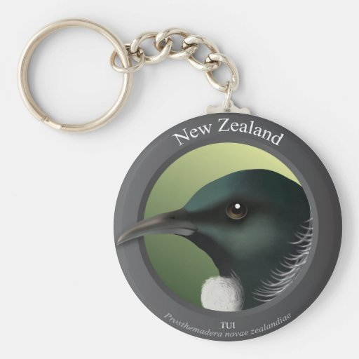 Bird - Tui Keychains