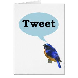 Bird Tweet Cards