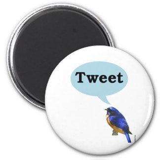 Bird Tweet Fridge Magnet