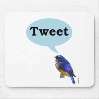 Bird Tweet Mouse Pad