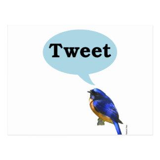 Bird Tweet Post Cards
