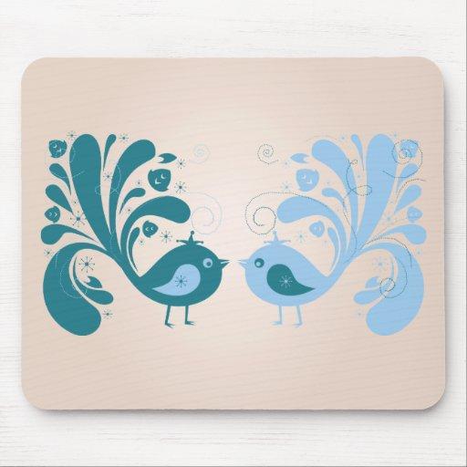 Bird ~ Two Sweet Birds Mousepad