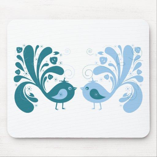 Bird ~ Two Sweet Birds Mousepads