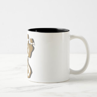 Bird Two-Tone Coffee Mug