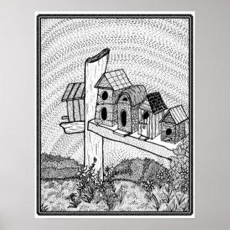 Bird Utopia Poster