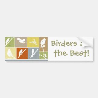Bird Variety Bumper Sticker