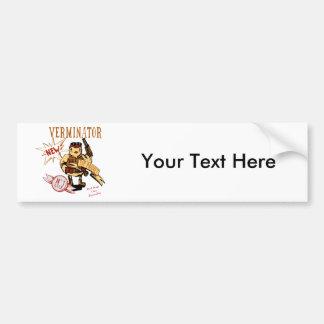 Bird Verminator  ~ Pest Extermination New Gift Car Bumper Sticker