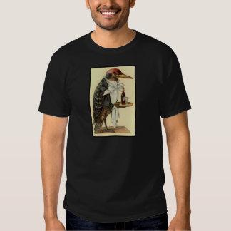 Bird Waiter T Shirt