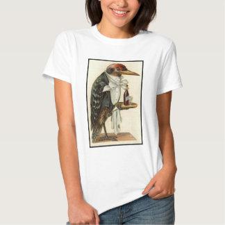 Bird Waiter Tee Shirt