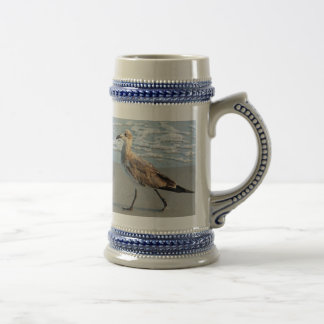 Bird Walks by Sea Mug