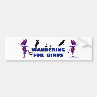 Bird Watcher Bumper Stickers