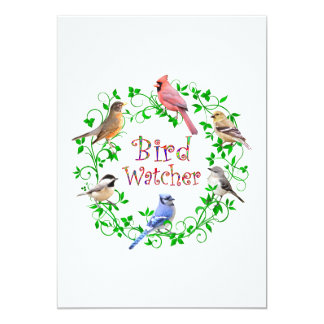 BIRD WATCHER CARD