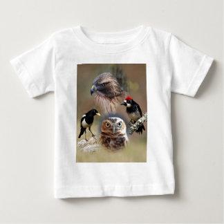 Bird Watcher Collage Baby T-Shirt