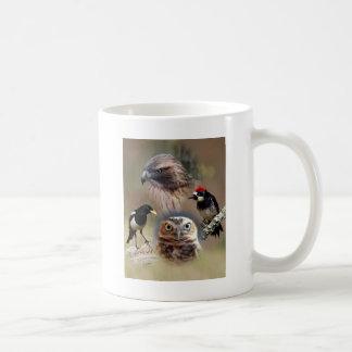 Bird Watcher Collage Coffee Mug