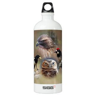 Bird Watcher Collage SIGG Traveler 1.0L Water Bottle