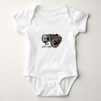 Bird Watcher Design w/Eagle & Woodpecker Baby Bodysuit