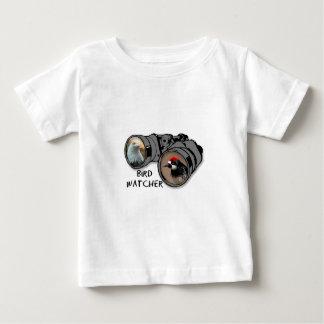 Bird Watcher Design w/Eagle & Woodpecker Baby T-Shirt